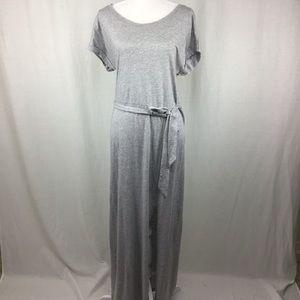 Sanctuary Isle T-Shirt Maxi Dress Heather Grey M
